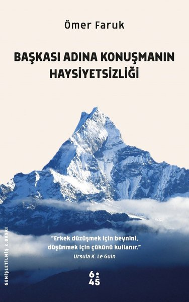 Başkası Adına Konuşmanın Haysiyetsizliği.pdf