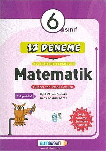 6.Sınıf Matematik 12 Deneme.pdf