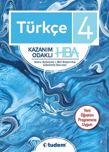 4.Sınıf Türkçe Kazanım Odaklı Hepsi Bir Arada-Yeni Öğretim Programına Uygun.pdf