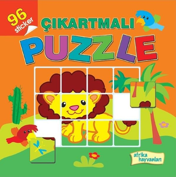 Çıkartmalı Puzzle-Afrika Hayvanları.pdf