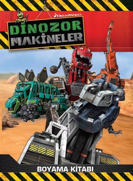 Dinozor Makineler Boyama Kitabı.pdf