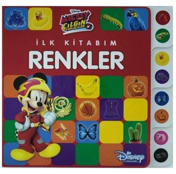 İlk Kitabım Renkler-Disney Mickey ve Çılgın Yarışçılar.pdf