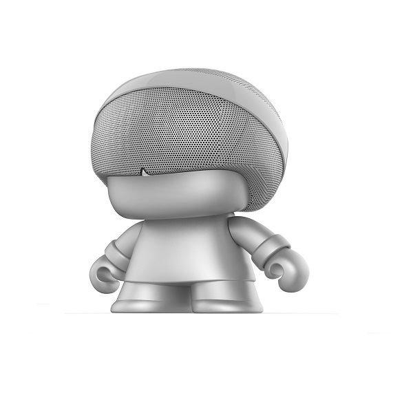 Xoopar Grand XBOY Bluetooth Speaker Silver