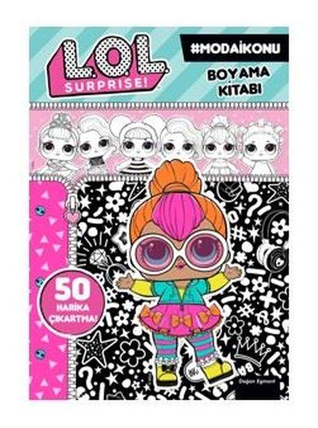 Lol Suprise! Moda İkonu Boyama Kitabı.pdf