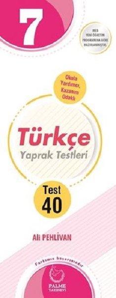 Palme Yaprak Test 7.Sınıf Türkçe  2019.pdf