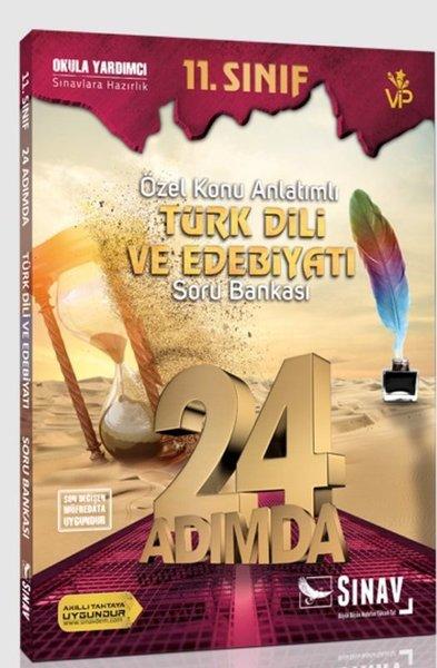 Sınav 11.Sınıf Türk Dili ve Edebiyatı 24 Adımda Özel Konu Anlatımlı Soru Bankası.pdf