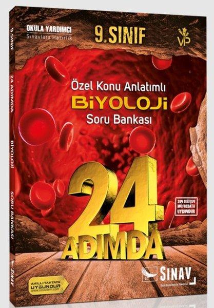 Sınav 9.Sınıf Biyoloji 24 Adımda Özel Konu Anlatımlı Soru Bankası.pdf