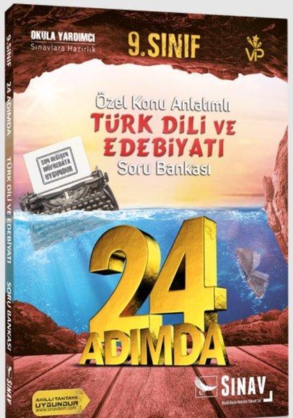 Sınav 9.Sınıf Türk Dili ve Edebiyatı 24 Adımda Özel Konu Anlatımlı Soru Bankası.pdf