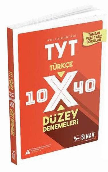 Sınav TYT Türkçe 10x40 Düzey Denemeleri.pdf