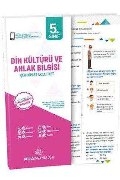 Puan 5.Sınıf Din Kültürü ve Ahlak Bilgisi Akıllı Test.pdf