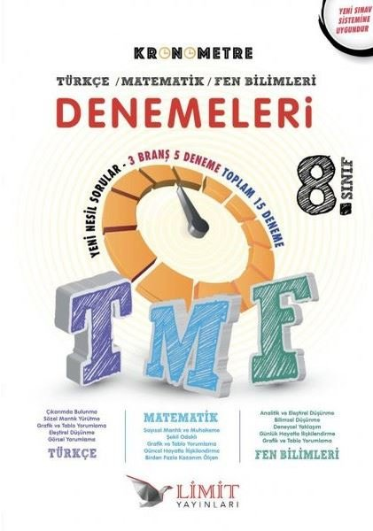 Limit 8.Sınıf LGS Kronometre 5li Deneme Sınavı.pdf