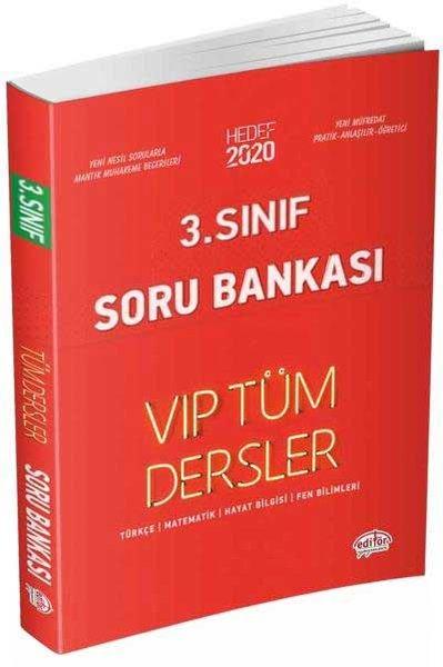 Editör 3.Sınıf VIP Tüm Dersler Soru Bankası Kırmızı Kitap.pdf