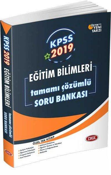 Data 2019 KPSS Eğitim Bilimleri Tamamı Çözümlü Soru Bankası.pdf