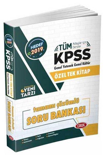 Data 2019 KPSS Genel Yetenek Genel Kültür Tamamı Çözümlü Soru Bankası.pdf