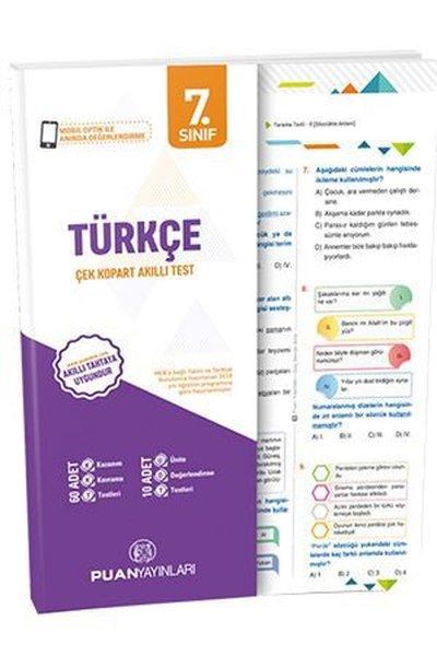 Puan 7.Sınıf Türkçe Akıllı Test.pdf