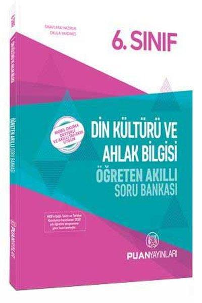 Puan 6.Sınıf Din Kültürü ve Ahlak Bilgisi Öğreten Akıllı Soru Bankası.pdf