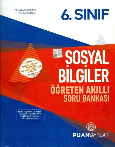 Puan 6.Sınıf Sosyal Bilgiler Öğreten Akıllı Soru Bankası.pdf