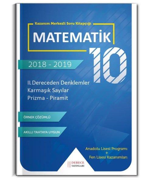 Derece 10.Sınıf II. Dereceden Denklemler Karmaşık Sayılar Prizma Pramit.pdf