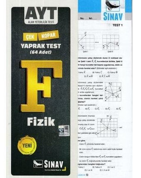 Sınav AYT Fizik Çek Kopar Yaprak Test.pdf