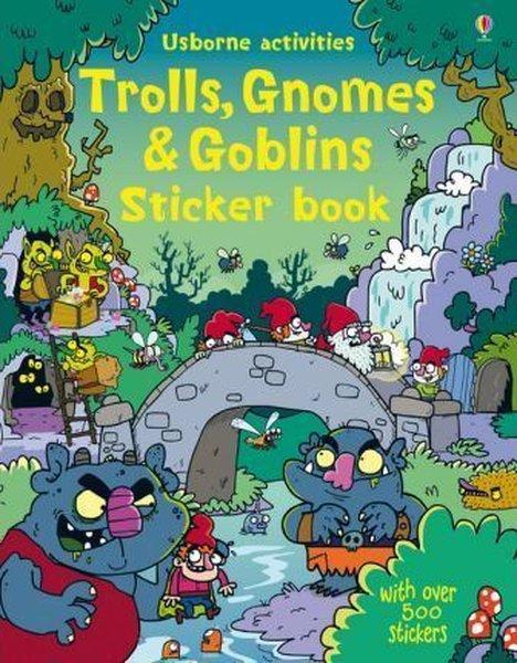 Trolls Gnomes & Goblins Sticker Book (Sticker Books).pdf