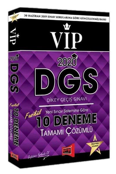 Yargı 2020 DGS VIP Yeni Sınav Sistemine Göre Tamamı Çözümlü 10 Fasikül Deneme.pdf