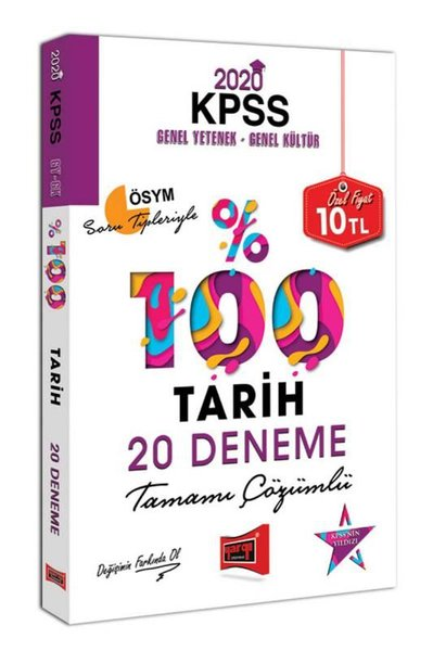 Yargı 2020 KPSS Tarih Tamamı Çözümlü 20 Deneme.pdf