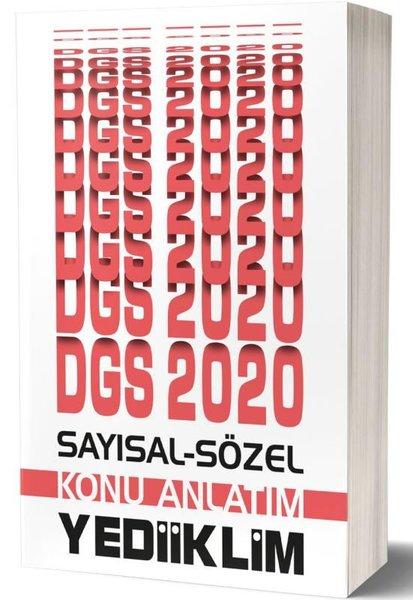 Yediiklim 2020 DGS Sayısal Sözel Bölüm Konu Anlatımı.pdf