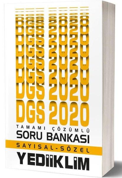 Yediiklim 2020 DGS Sayısal Sözel Tamamı Çözümlü Soru Bankası.pdf