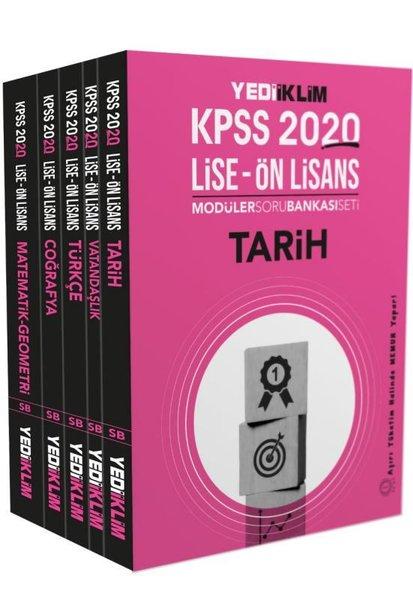 Yediiklim 2020 KPSS Orta Öğr. Lise-Önlisans Tamamı Çözümlü Modüler Soru Bankası.pdf