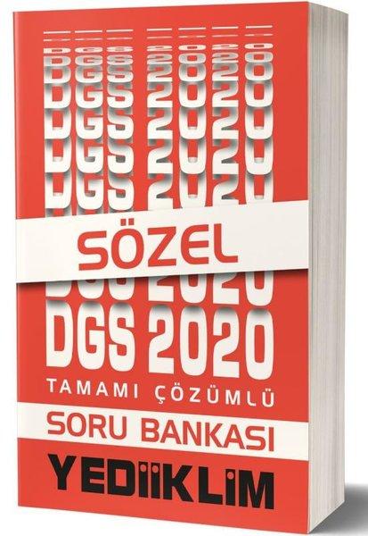Yediiklim 2020 DGS Sözel Bölüm Tamamı Çözümlü Soru Bankası.pdf