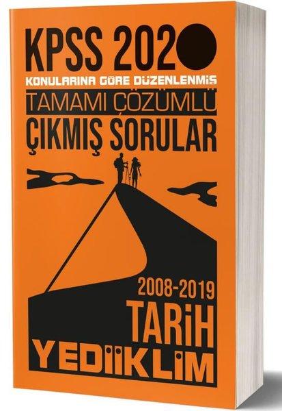 Yediiklim 2020 KPSS Genel Kültür Tarih Tamamı Çözümlü Konularına Göre Çıkmış Sorular.pdf