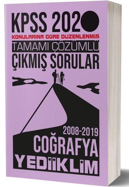 Yediiklim 2020 KPSS Genel Kültür Coğrafya Tamamı Çözümlü Konularına Göre Çıkmış Sorular.pdf