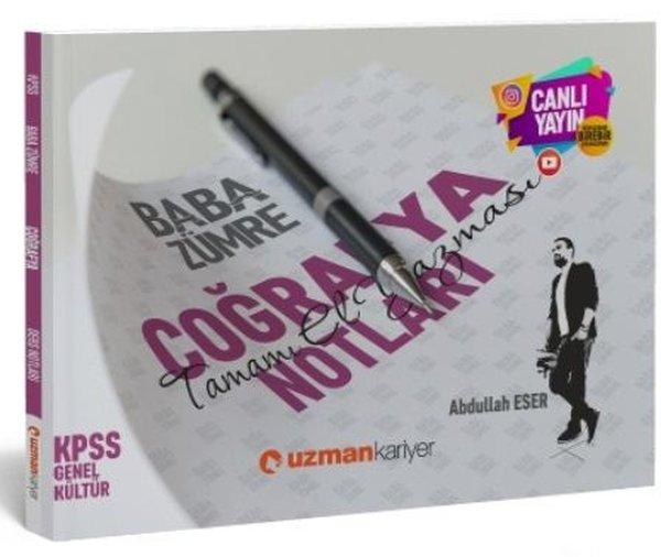 Uzman Kariyer 2020 KPSS Baba Zümre Coğrafya Notları.pdf