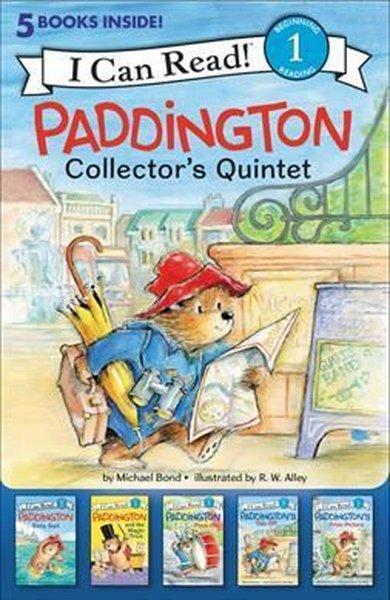 Paddington Collectors Quintet: 5 Fun-Filled Stories in 1 Box! (I Can Read Level 1).pdf