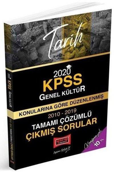 2020 KPSS Tarih Konularına Göre Düzenlenmiş Tamamı Çözümlü Çıkmış Sorular.pdf