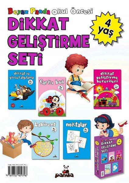 4 Yaş Okul Öncesi-Dikkat Geliştirme Seti-5 Kitap Takım.pdf