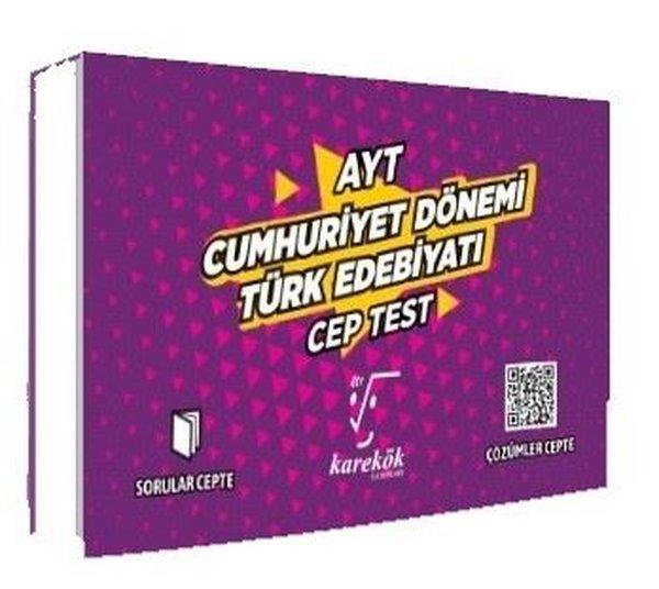 AYT Cumhuriyet Dönemi Türk Edebiyatı Cep Test.pdf
