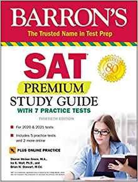 SAT Premium Study Guide with 7 Practice Tests (Barrons Test Prep).pdf