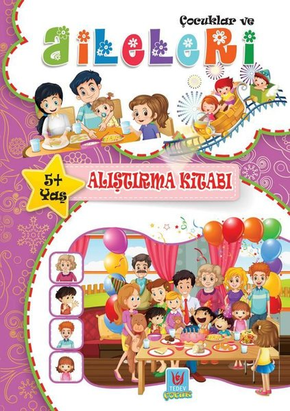 Çocuklar ve Aileleri 5+Yaş Alıştırma Kitabı.pdf