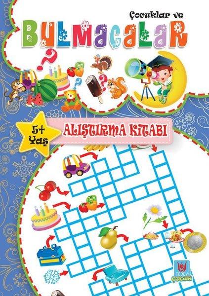 Çocuklar ve Bulmacalar 5+Yaş Alıştırma Kitabı.pdf