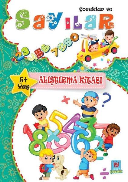 Çocuklar ve Sayılar 5+Yaş Alıştırma Kitabı.pdf