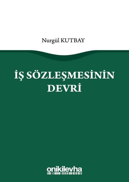 İş Sözleşmesinin Devri.pdf