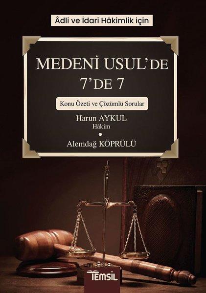 Medeni Usulde 7de 7 Konu Özeti ve Çözümlü Sorular-Adli ve İdari Hakimlik İçin.pdf