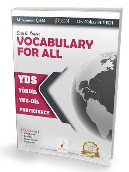 Easy to Learn Vocabulary For All YÖKDİL YKS-Dil Proficiency.pdf