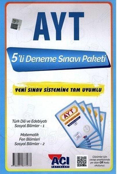 Açı AYT 5li Deneme sınavı Paketi YKS.pdf