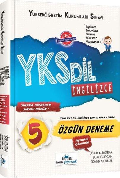 İrem YKS DİL İngilizce 5 Özgün Deneme.pdf
