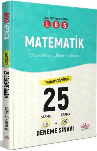 LGS Matematik Tamamı Çözümlü 25 Deneme Sınavı.pdf