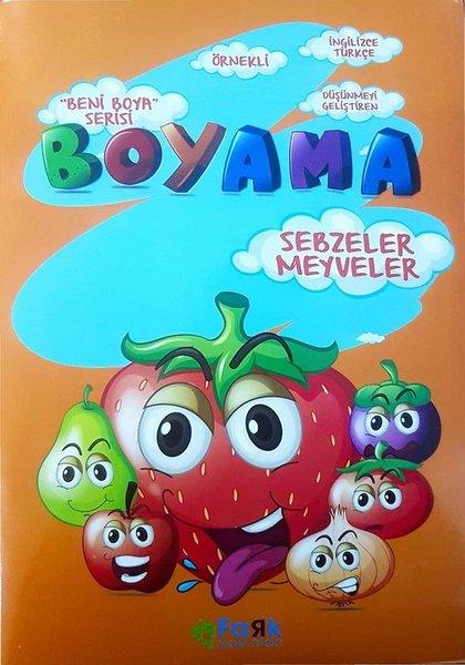 Sebzeler Ve Meyveler Beni Boya Serisi Boyama Kolektif Fiyati