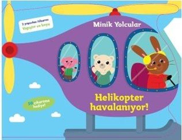 Minik Yolcular-Helikopter Havalanıyor!-2 Yaşından İtibaren Yapıştır ve Boya.pdf