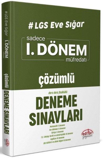 LGS Eve Sığar Sadece 1.Dönem Müfredatı Çözümlü Deneme Sınavları.pdf